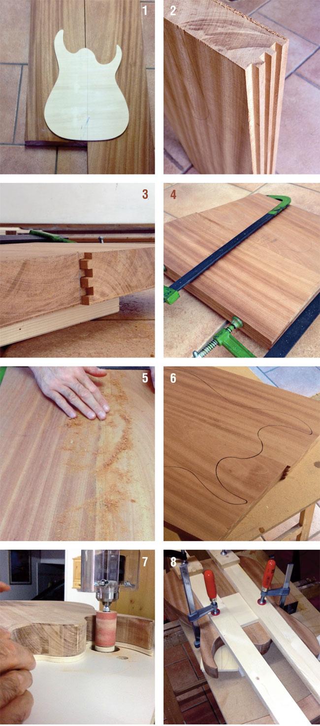 Costruire una chitarra elettrica tutti i passaggi illustrati bricoportale - Costruire una finestra fai da te ...