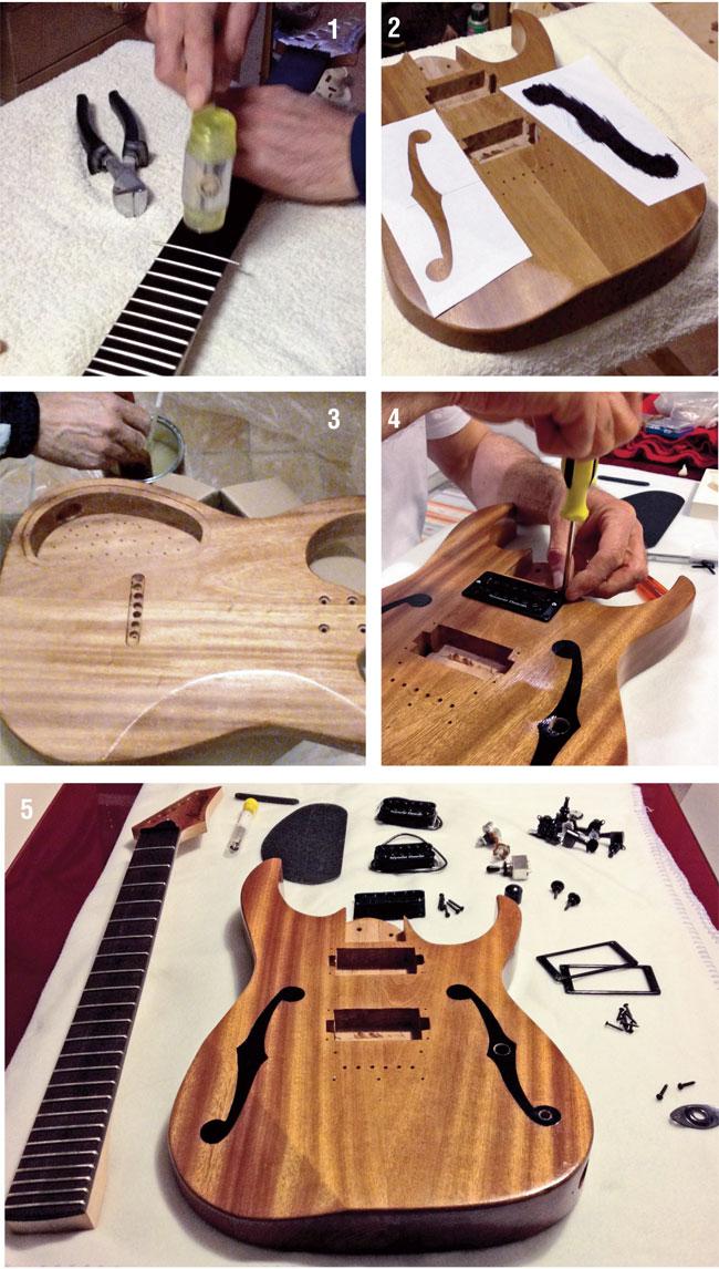 chitarra fai da te