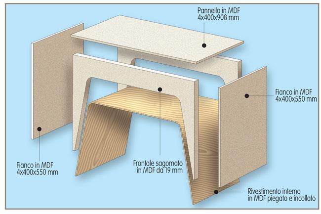 Vassoio da letto fai da te bricoportale fai da te e - Costruire tavolino ...