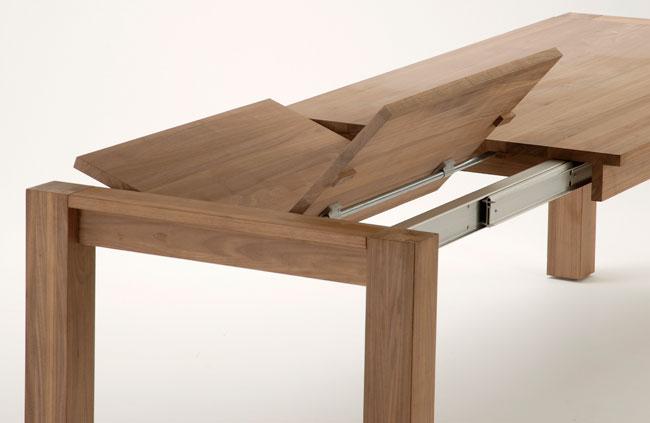 Tavolo allungabile fai da te con panca bricoportale fai - Meccanismo per tavolo allungabile ...