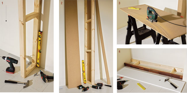 abbastanza Costruire un portabottiglie da parete - Bricoportale: Fai da te e  HY37