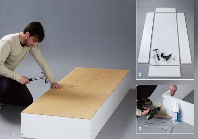 Come costruire una scrivania da parete - Bricoportale: Fai da te e ...