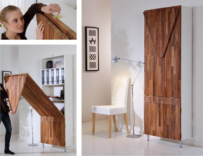 Come costruire una scrivania da parete bricoportale fai da te e bricolage - Tavolo da muro pieghevole ...
