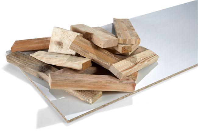 Riciclare scarti di legno, patchwork decorativo, riutilizzare il legno, legno a parete, decorare con il legno