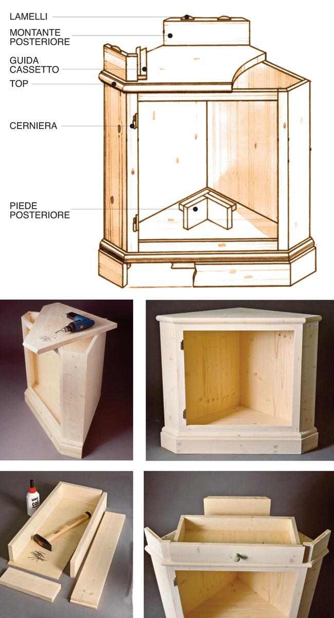 Stile provenzale fai da te bricoportale fai da te e bricolage - Costruire mobili in legno fai da te ...