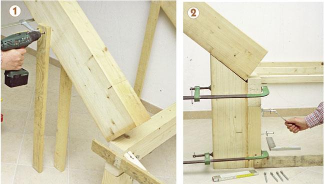 Scala in legno fai da te, scala in legno, costruire una scala, come ...