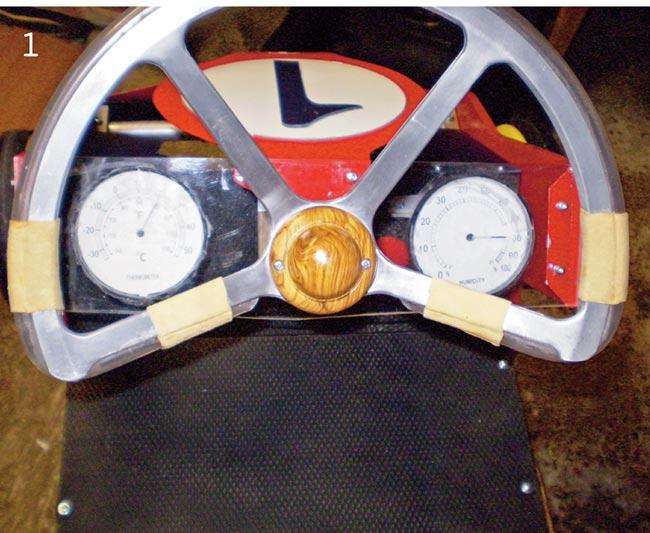 volante go kart