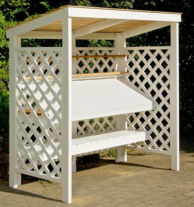 Costruire una cucina da esterno in legno d 39 abete - Costruire un tavolo in legno per esterno ...