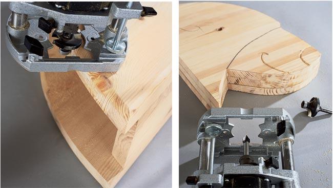 fresare il legno