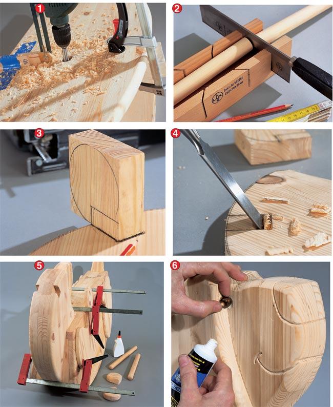 Super Dondolo in legno fai da te - Bricoportale: Fai da te e bricolage HX72