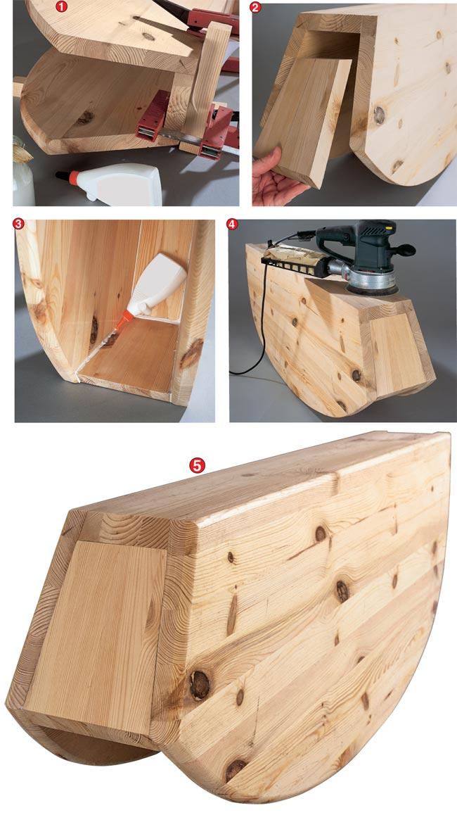 unione pezzi di legno