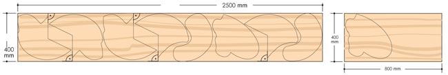 ottimizzare taglio del legno
