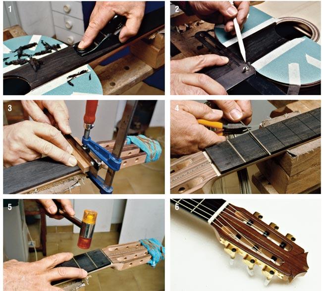 tastiera chitarra classica