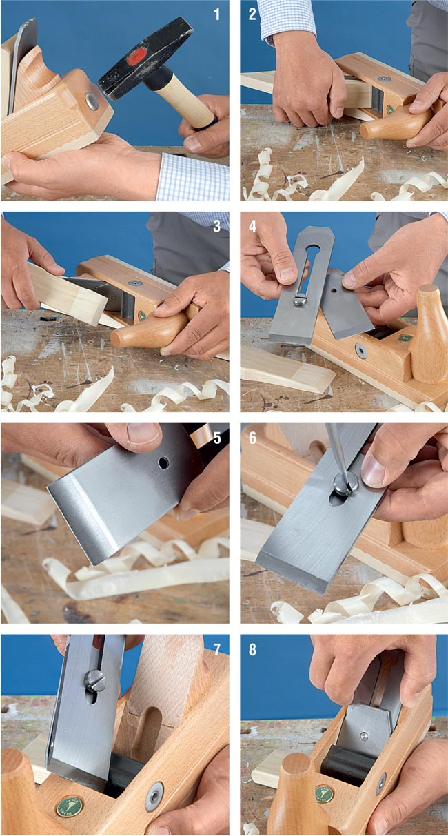 Pialla manuale per legno 10