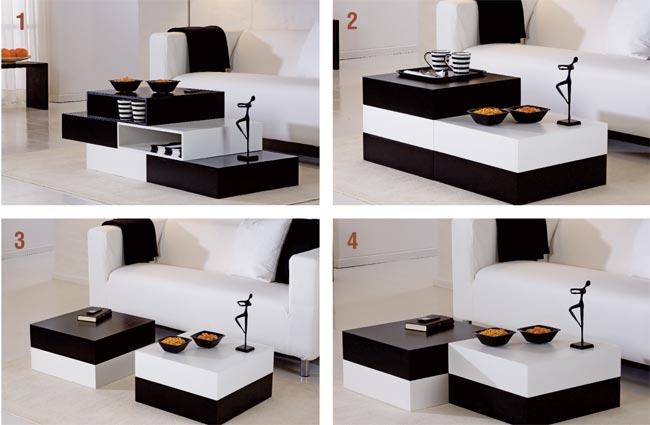 Tavolo modulare fai da te bricoportale fai da te e for Idee arredamento soggiorno fai da te