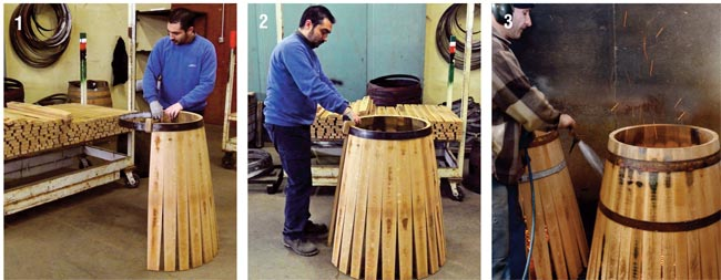 Costruire presepe di legno idee per interni e mobili for Botte di legno arredamento