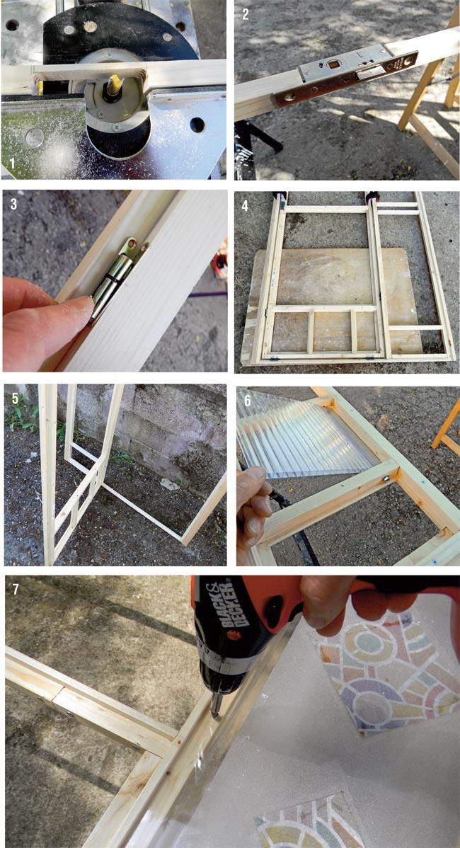 Zanzariera per portafinestra fai da te come si costruire in dettaglio - Costruire una finestra in alluminio ...