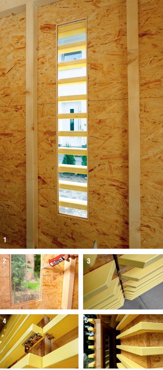 Come costruire una casetta di legno da giardino bricoportale fai da te e bricolage - Porta per soffitta ...
