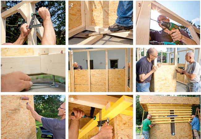 Amazing casette di legno per bambini fai da te qa39 pineglen - Costruire una casetta ...