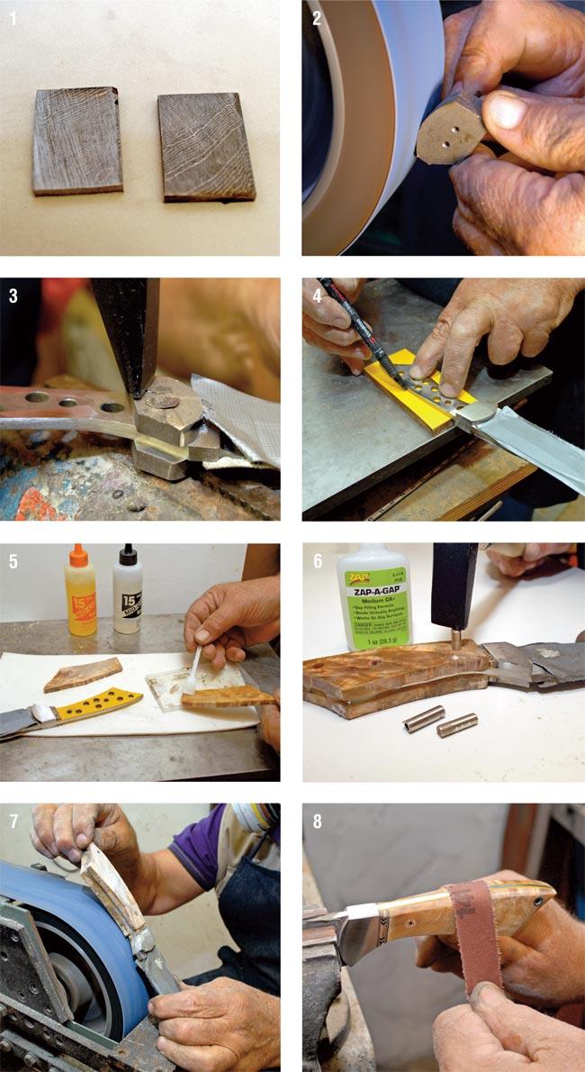 impugnatura coltello