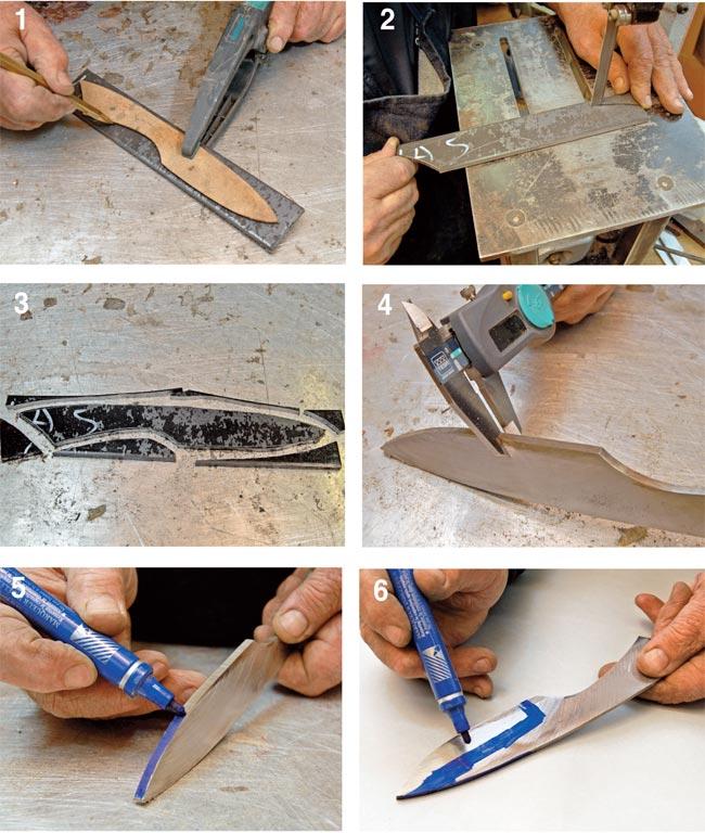 acciaio per coltelli