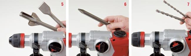 scalpelli per perforatore