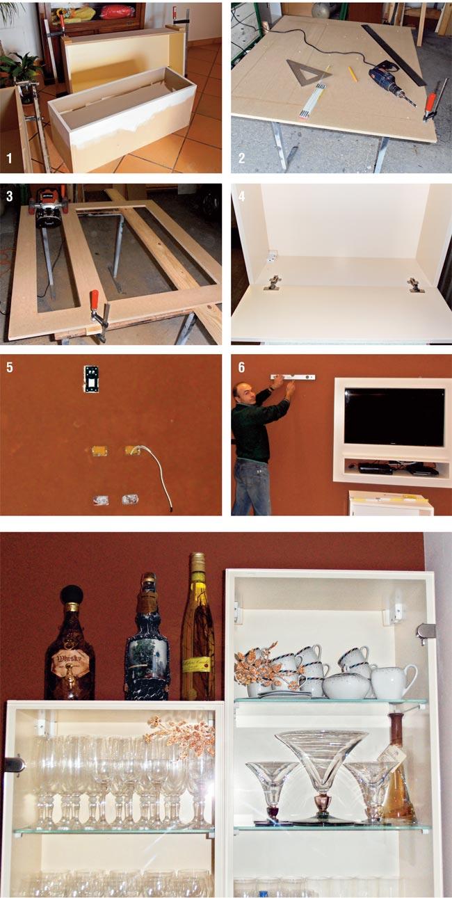 Come costruire un mobile sala bricoportale fai da te e for Mobile sala