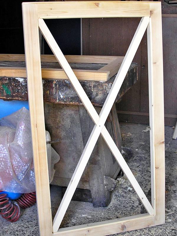 Cancello in legno fai da te bricoportale fai da te e for Coprilavatrice legno fai da te