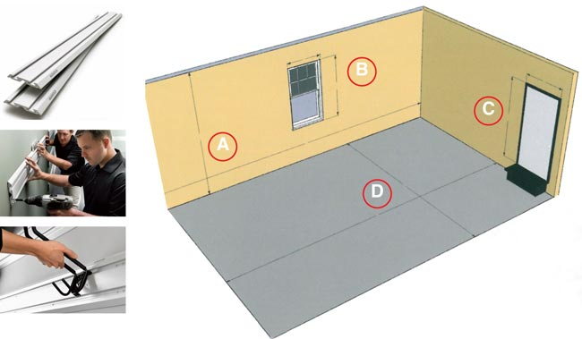 liberare spazio in garage