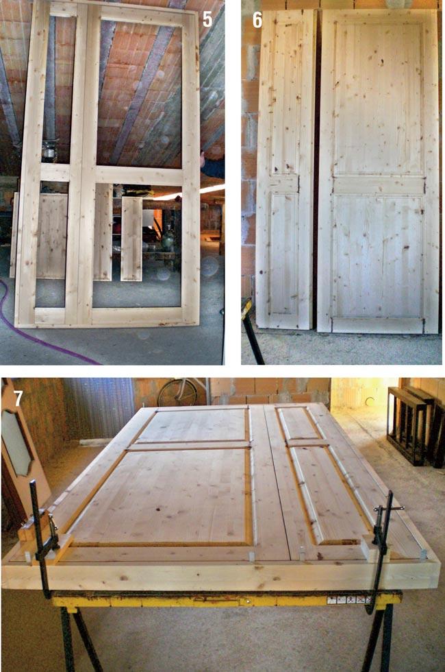 Come costruire un portoncino per l 39 ingresso bricoportale - Ingresso garage ...