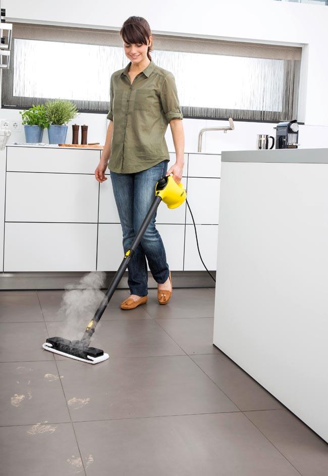 Pulitore a vapore k rcher sc1 kit pavimenti bricoportale fai da te e bricolage - Vaporetto per piastrelle ...