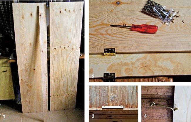 Antine fai da te oscuranti in legno per finestra da tetto for Costruire porta tv