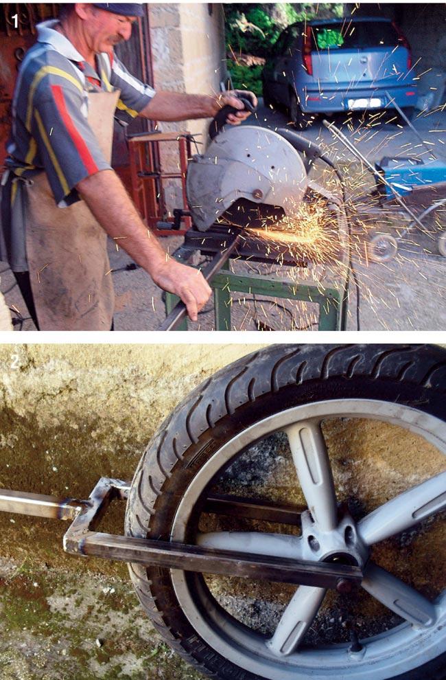 tagliare il ferro