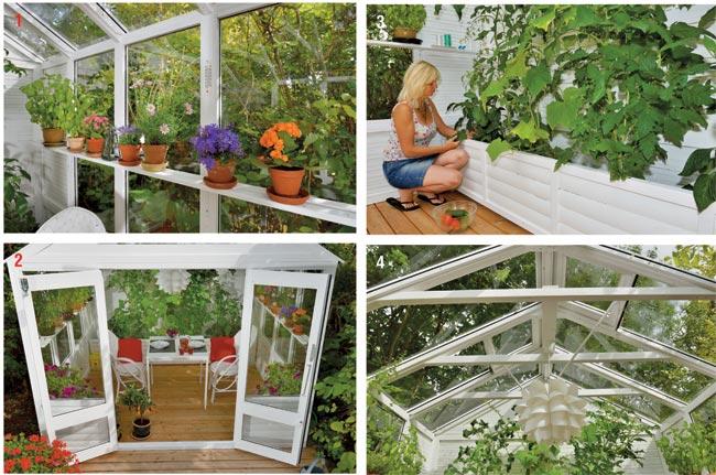 Credenza Da Esterno Fai Da Te : Casetta da giardino fai te per piante ma non solo