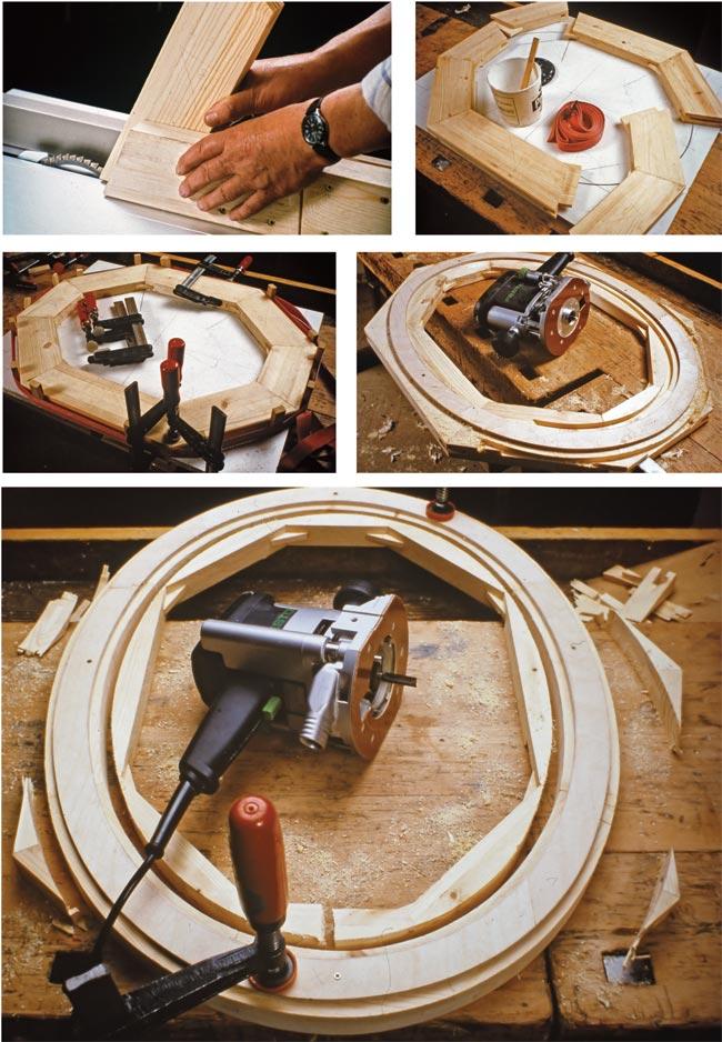 come creare una cornice ovale