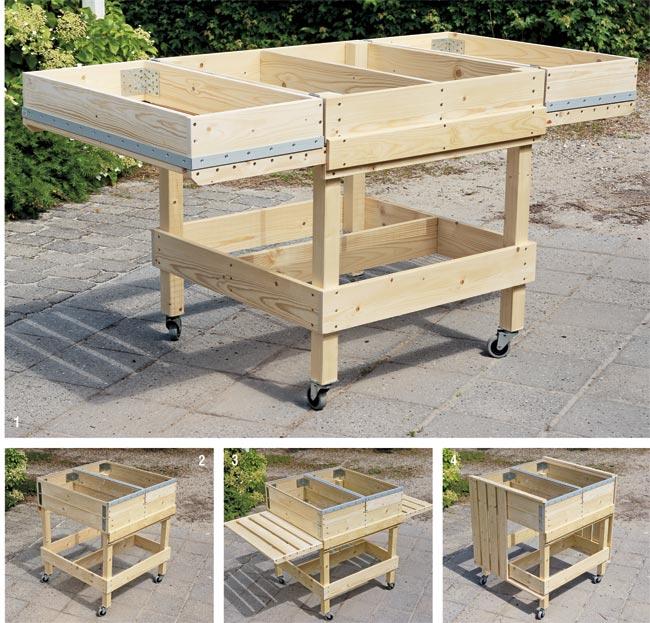 Connu Orto in cassetta | Come costruire il banchetto fai da te  WF86