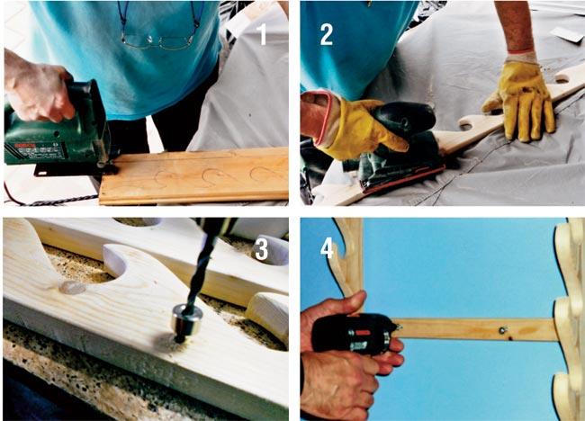 come costruire un portaspade in legno
