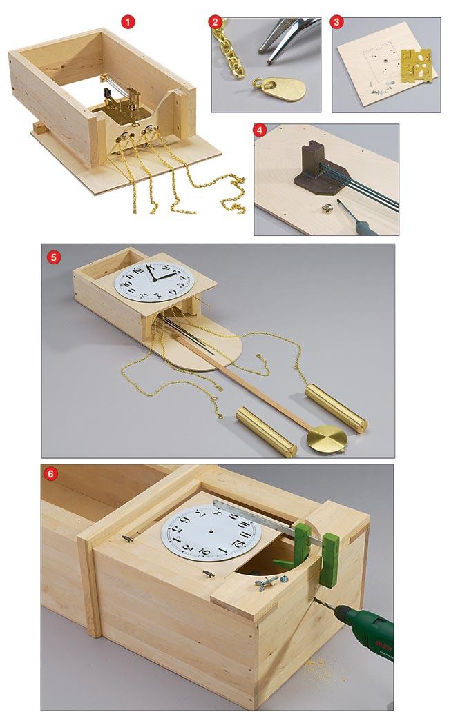 supporto meccanismo orologio