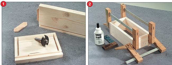 costruire un cassetto