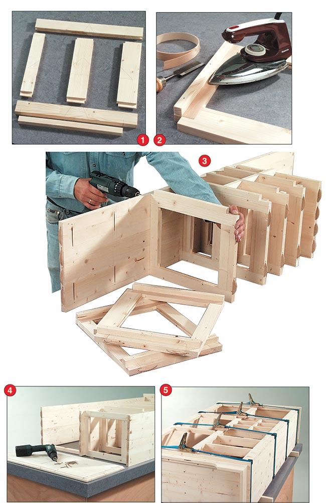ripiani di legno