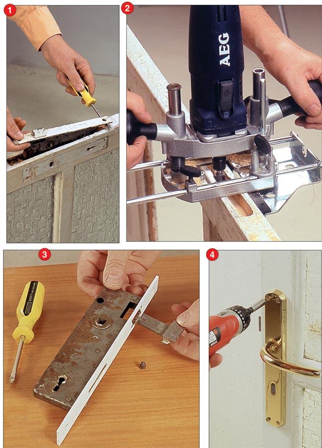 installare maniglia porta