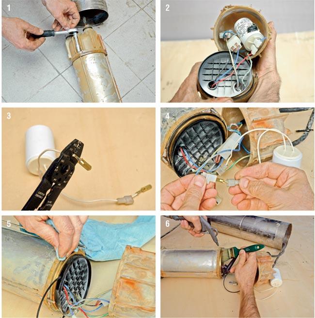 aggiustare elettropompa