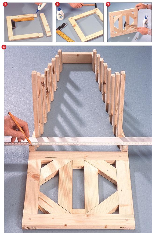 costruire un espositore in legno