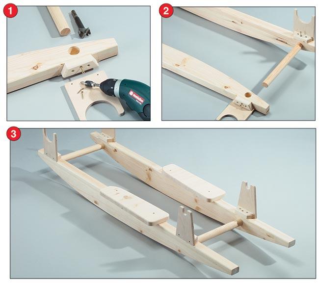 Monoposto fai da te imitazione f1 in legno - Costruire sedia a dondolo ...