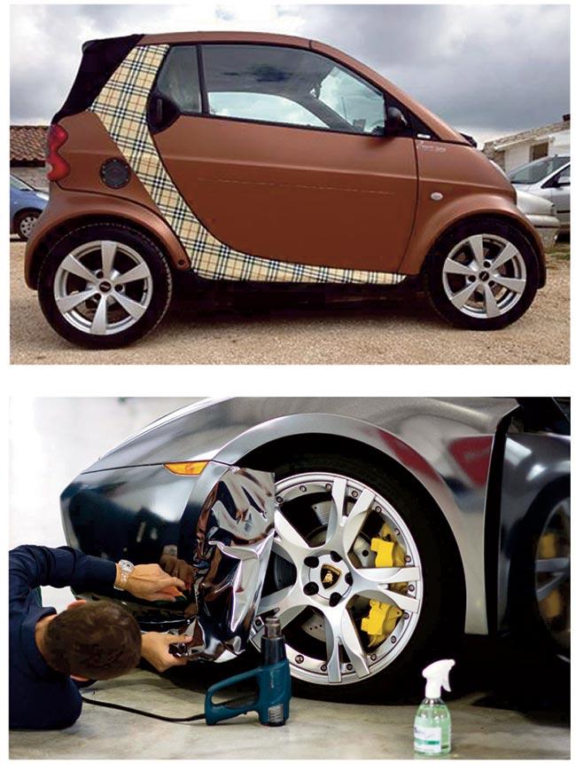pellicole per auto, carwrapping