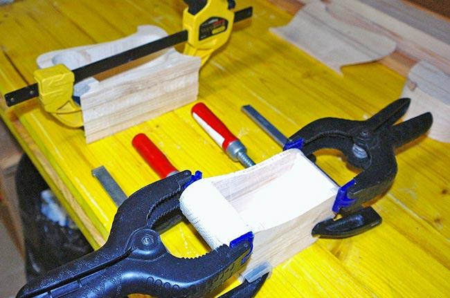 incollare il legno