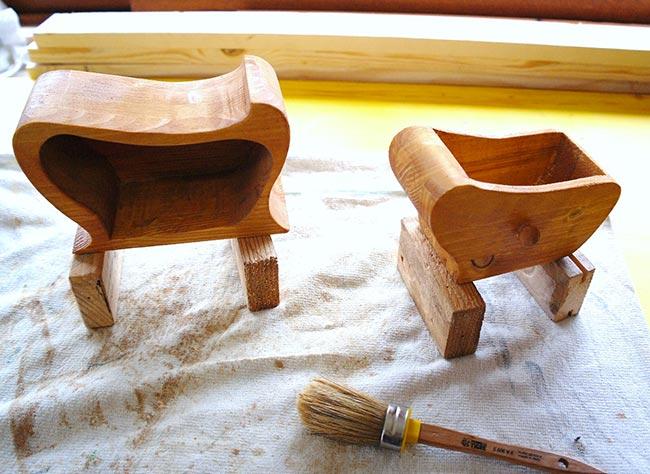 Portagioie fai da te di legno in stile liberty guida - Costruire un portagioie ...