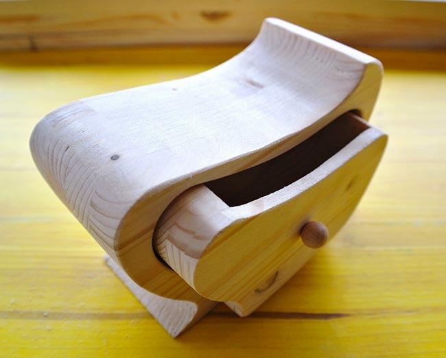 portagioie in legno