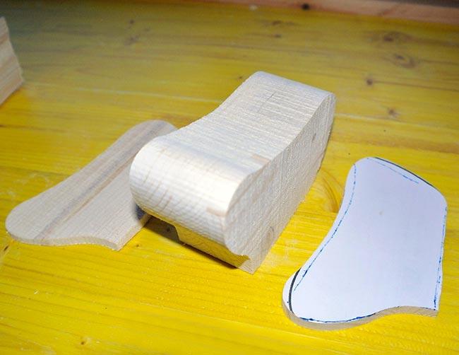 legno sagomato