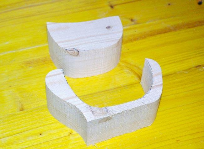 legno tagliato